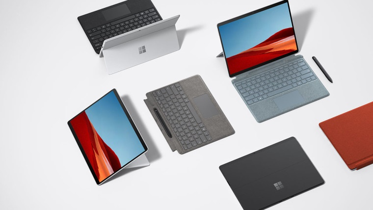 Surface Pro X, Laptop Microsoft, Tablet Microsoft, Ra mắt, PC ARM