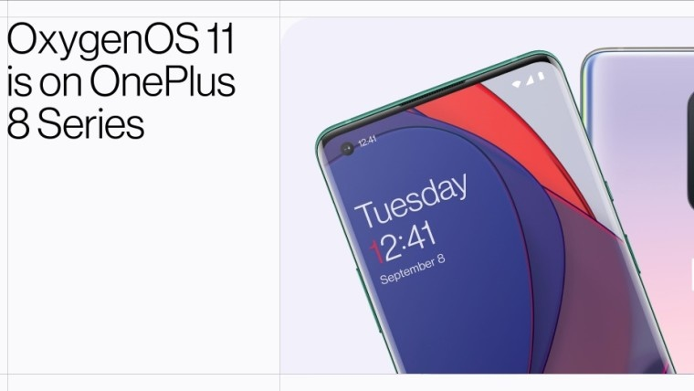 OnePlus 8, OnePlus 8 Pro, Điện thoại OnePlus, OxygenOS 11 , Android 11,